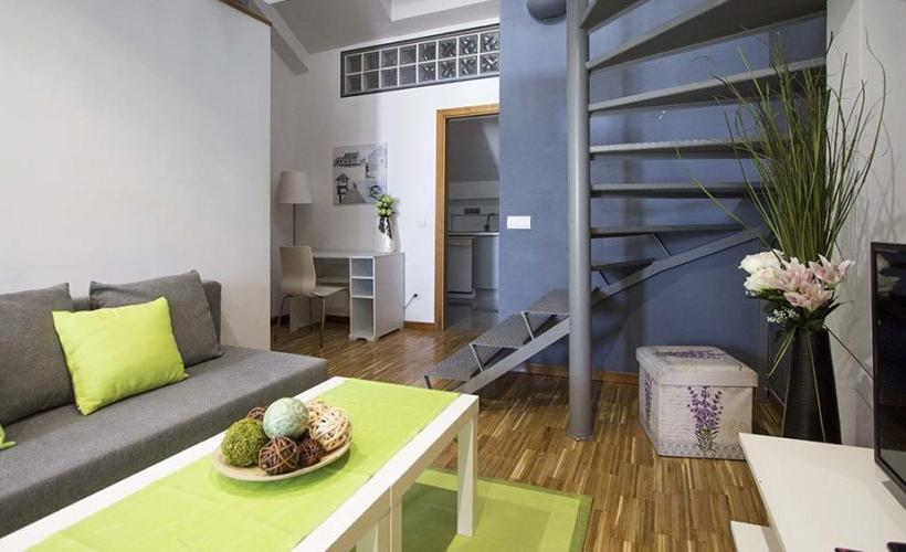 apartment from day apartment for rent for companies in Madrid Malasaña