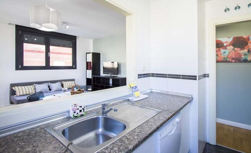 apartment from day apartment for rent for companies in Madrid Plaza Castilla